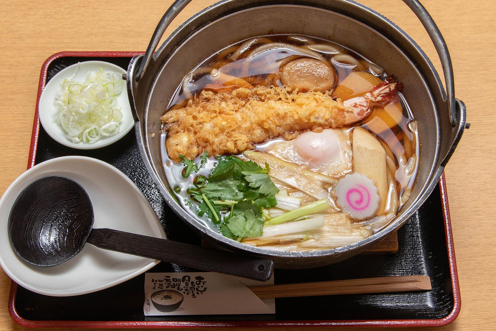 鍋焼きうどん ¥1,000【税込】
