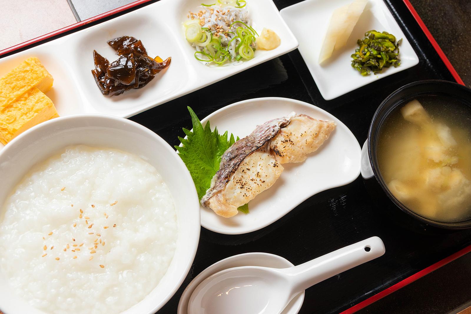 真鯛の西京焼お粥セット